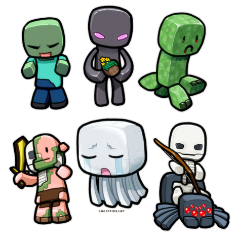 File:Minecraft Chibies 1.png