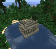 Buged jungle temple