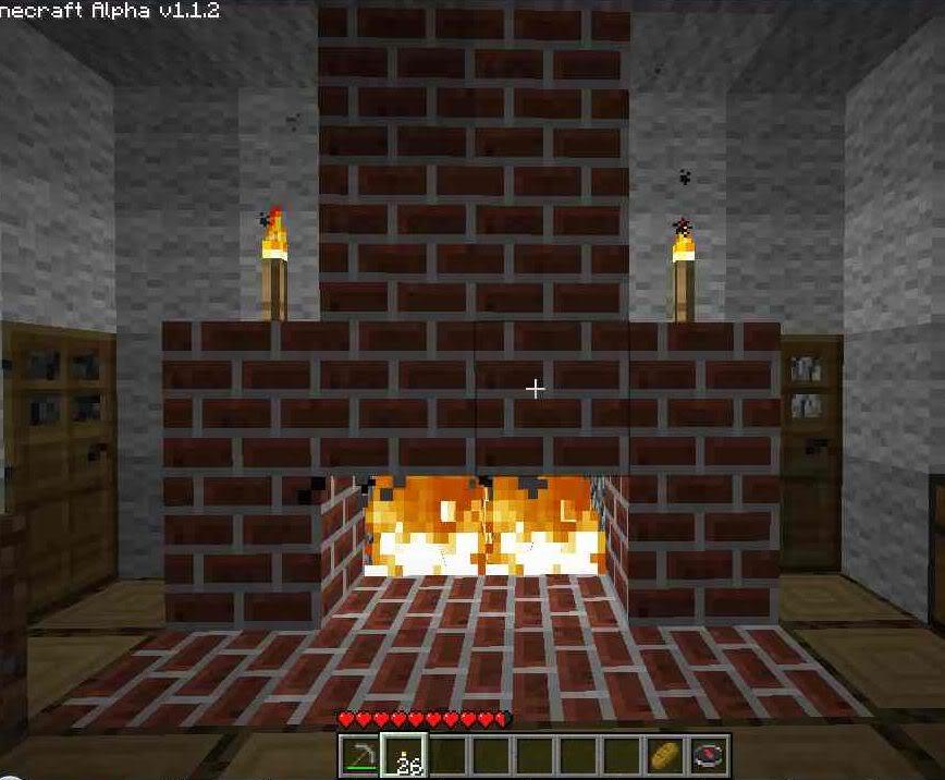 Image minecraft wiki fandom powered by wikia - Build sealed fireplace home step step ...