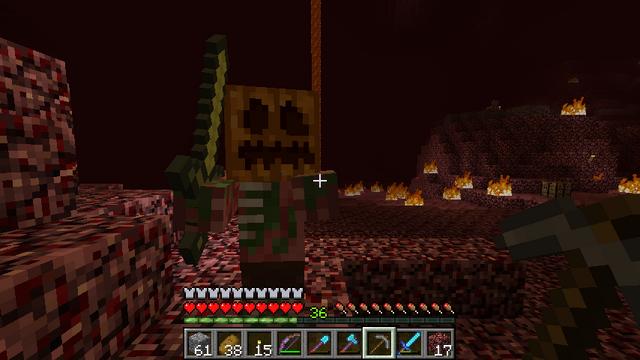 File:Zombie Pigmen wearing a Pumpkin.png