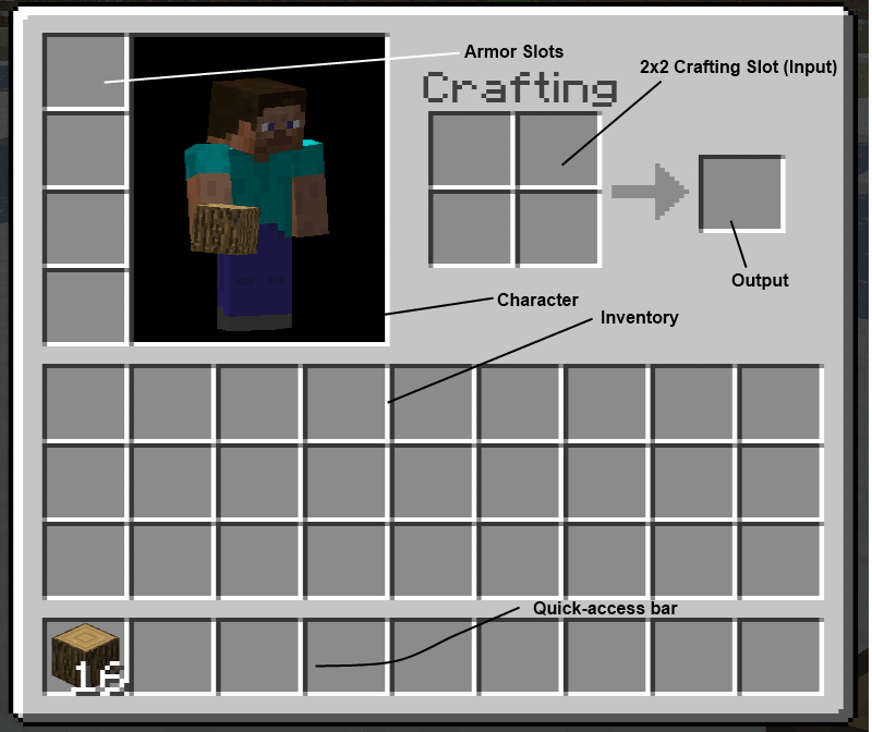 How To Make Crafting Table In Minecraft Survival
