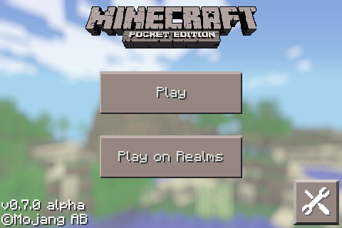 File:MCPE title 0.7.0.png