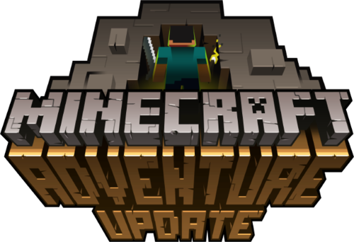 File:Minecraft logo adventure update.png