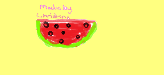 File:Watermelon Drawing Made by Christina.png