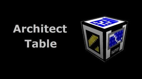Architect Table - Buildcraft In Less Than 90 Seconds-1