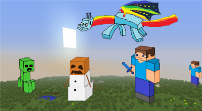 Minecraft Fan Fiction Cover