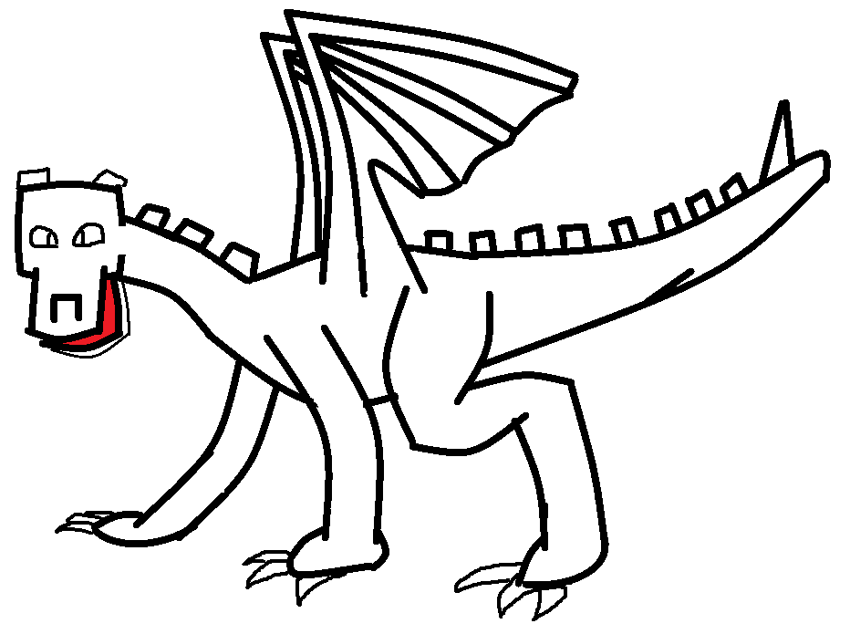 Dragon Template | Minecraft Fanfictions Wiki | Fandom powered by Wikia