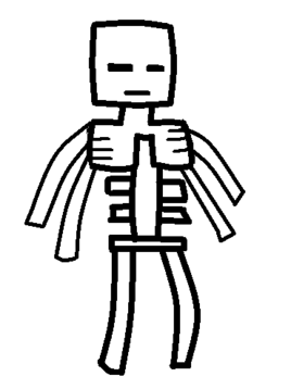 Four Armed Skeleton Template
