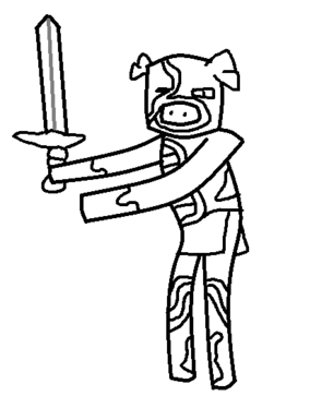 Zombie Pigman Templ.