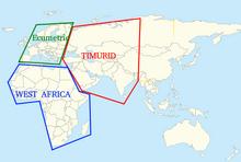 TimuridEcumenicalWestafrican treatiesmap