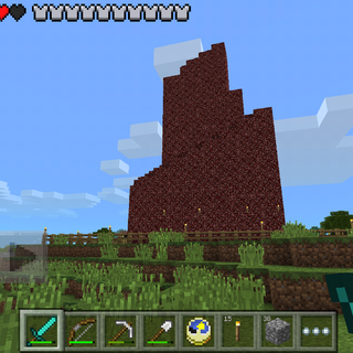 A Nether Spire without holes