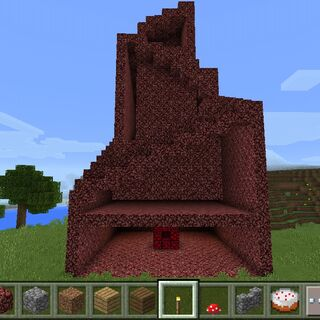 Cross-section of a Nether Spire