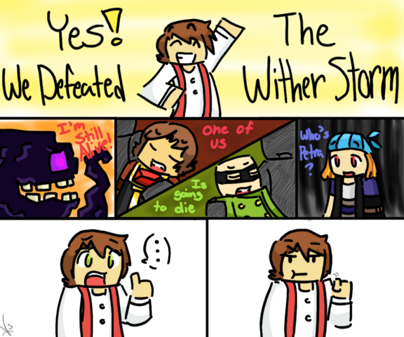 File:Come on minecraft storymode spoiler by milieus-d9ipzq5.png