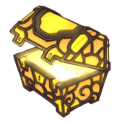 The official artwork for Illuminated Treasure