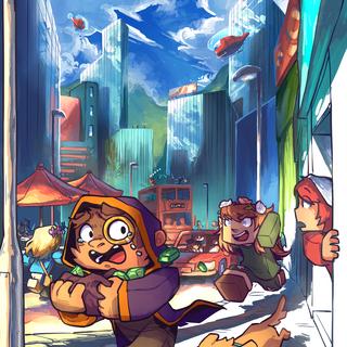 The official artwork for Gem Hunters.