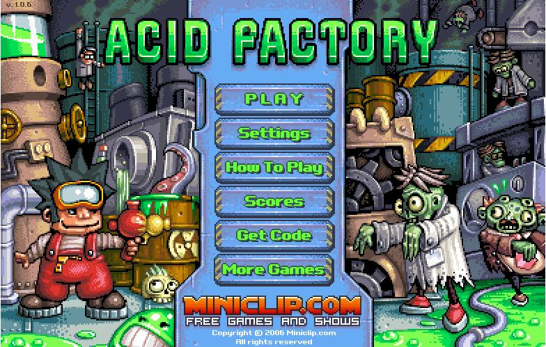 Help Harry rid the factory of all hideous creatures! #PlatformingGames #RetroGames #Miniclip