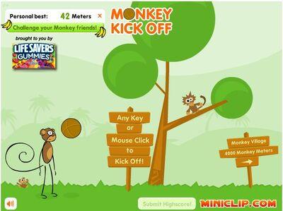 Monkey Kick Off