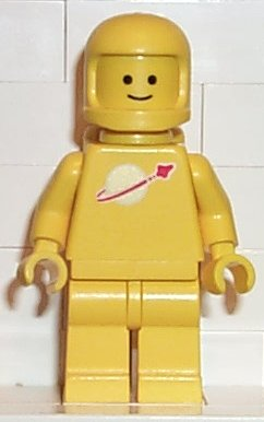 Yellow Classic Spaceman