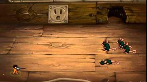 Minitroopers Trooper Edgar vs 190 Rats