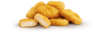 Hero pdt 6 nuggets no sauce