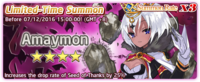 Amaymon Summon Banner