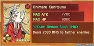 Onimaru Kunitsuna Summon Preview