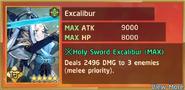 Excalibur Summon Preview