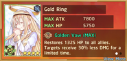 Gold Ring Summon Preview