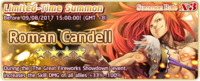Roman Candell Summon Banner