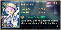 Sodium Elf Exchange Box