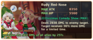 Rudy Red-Nose Special Ability Daemon Banner