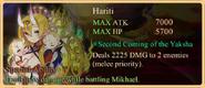 Hariti Special Ability Daemon Banner