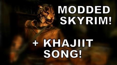 SKYRIM KHAJIIT LIKE TO SNEAK