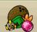 Exotic fruit button