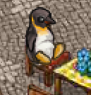 Penguin-seated