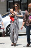 10861 Preppie Miranda Kerr out with baby Flynn at the nail salon 11 122 50lo