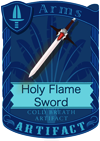 Holy Flame Sword