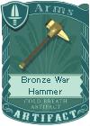 File:Bronze War Hammer.png