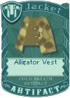 Alligator vest