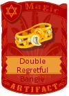 Double Regretful Bangle