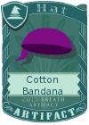 Cotton Bandana Purple