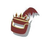 Bronze Helmet 3 Red