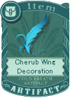 Cherub Wing Decoration