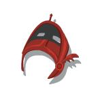 Bronze Helmet 1 Red