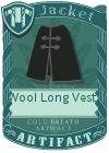 Wool Long Vest 3 Black