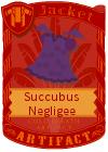 Succubus Negligee Purple