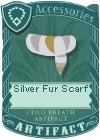 Silver Fur Scarf