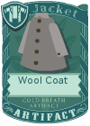 Wool coat grey