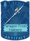 Paragon Frost Halberd