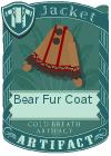 Bear fur coat brown2